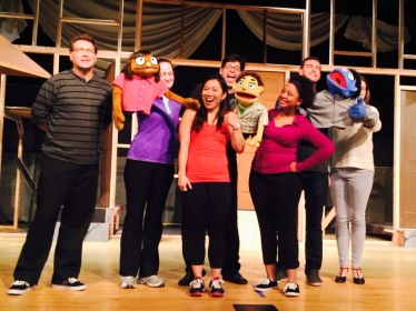 Cast Members of Avenue Q